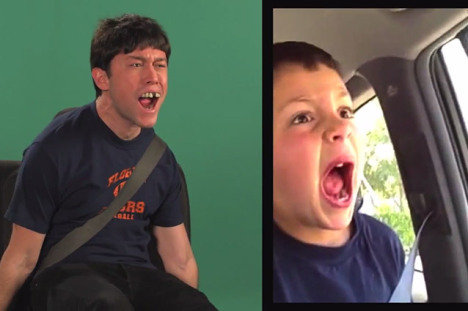 Joseph Gordon-Levitt, David After Dentist Reenactment