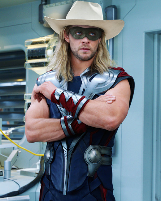 Chris Hemsworth, The Avengers, The Lone Ranger
