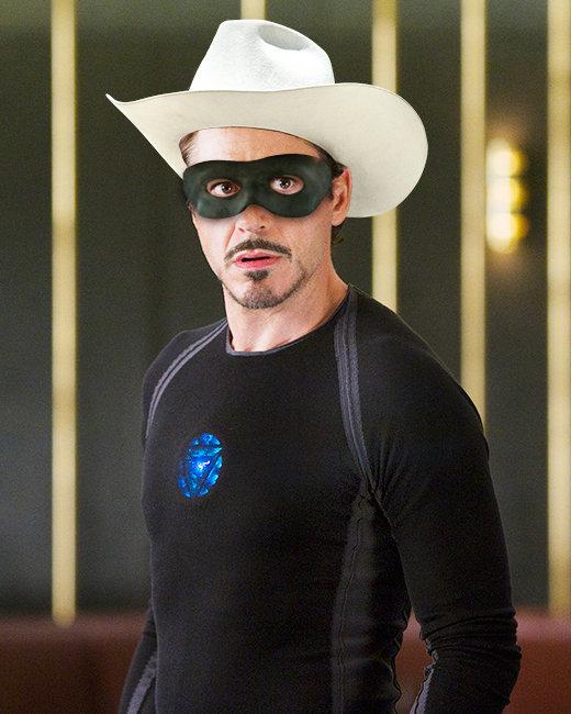 Robert Downey Jr., Iron Man, The Lone Ranger