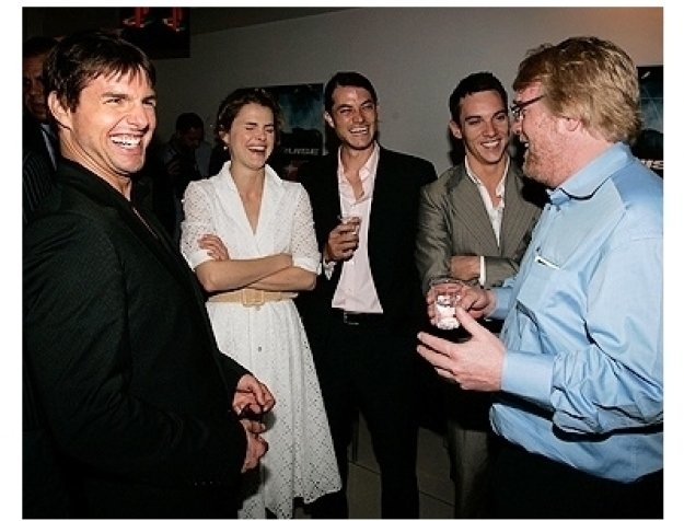 Tom Cruise, Keri Russell, Jonathan Rys-Meyers and Phillip Seymore Hoffman at the Rome Premiere of  Mission: Impossible III