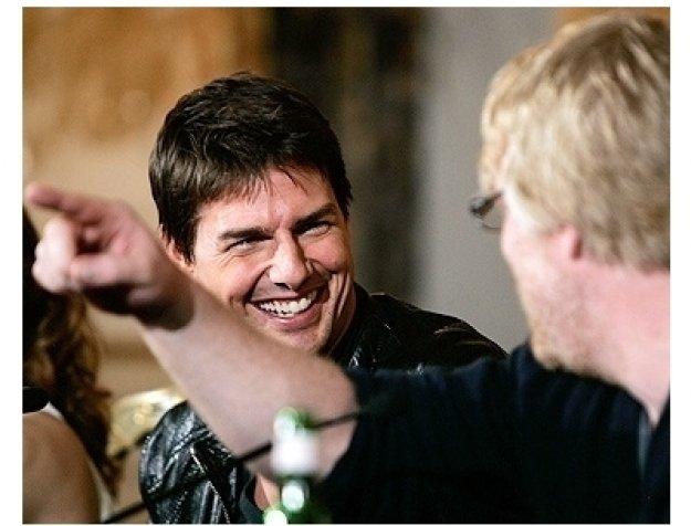 Tom Cruise and Phillip Seymor Hoffman