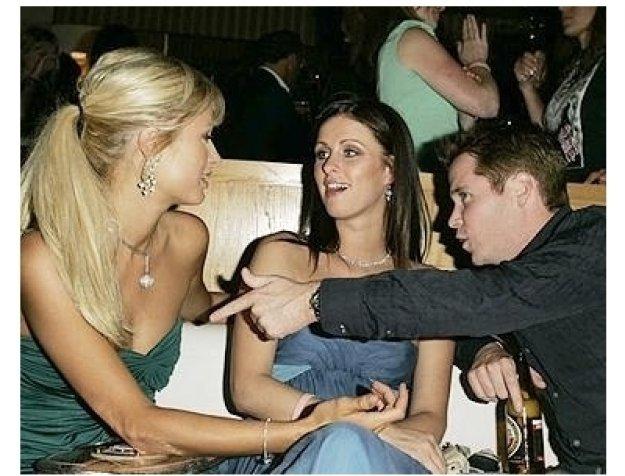 Four Inches Photos: Paris Hilton Nicky Hilton and Kevin Connolly