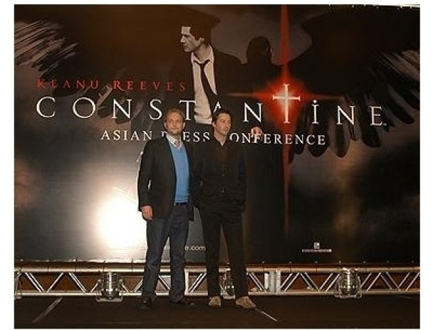 Asian Press Conference for Constantine: Francis Lawrence and Keanu Reeves