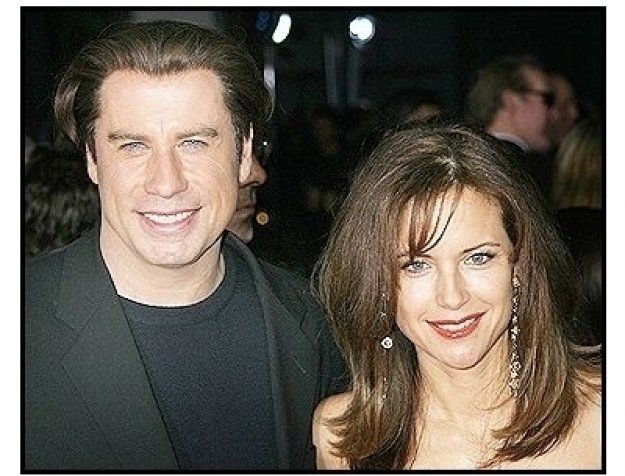 "John Travolta and Kelly Preston at ""The Punisher"" Premiere"