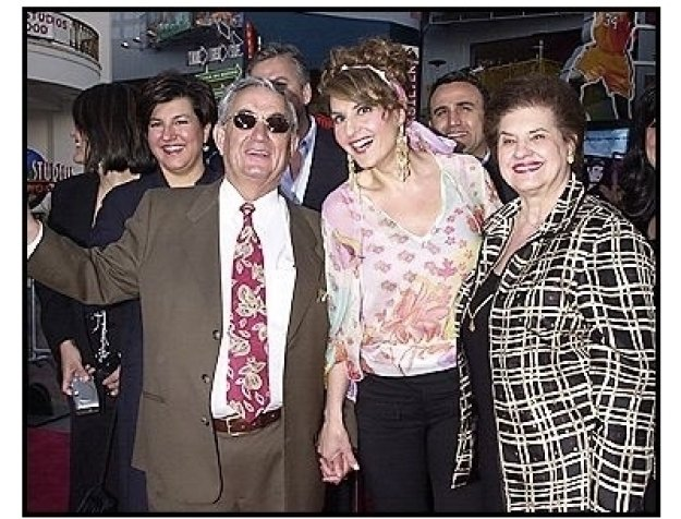 "Nia Vardalos and her parents at the ""Connie and Carla"" Premiere"