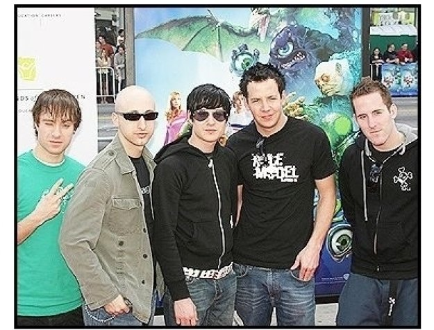 """A Simple Plan at the """"Scooby-Doo 2: Monsters Unleashed"""" Premiere"""