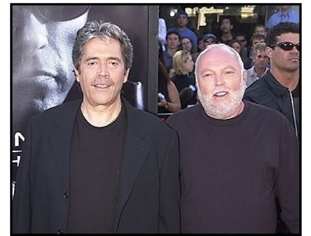 "Mario Kassar and Andrew Vajna at the ""Terminator 3: Rise of the Machines"" premiere"