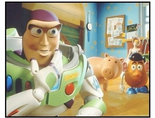 """Toy Story 2"" Movie Still: Buzz Lightyear"