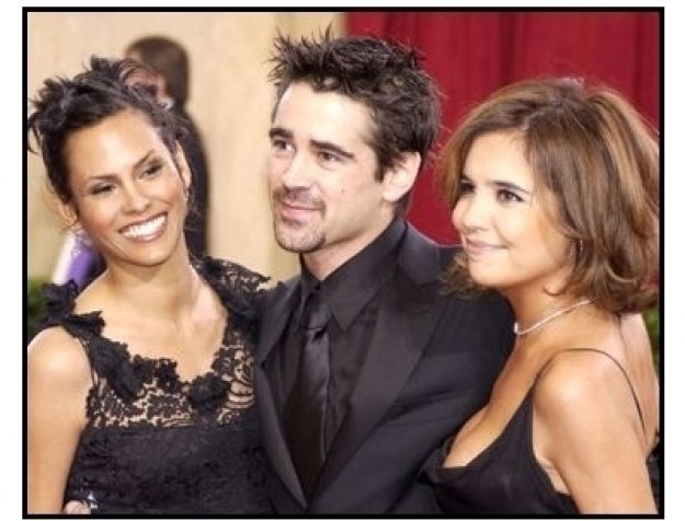 Academy Awards 2003 Arrivals: Colin Farrell and friends