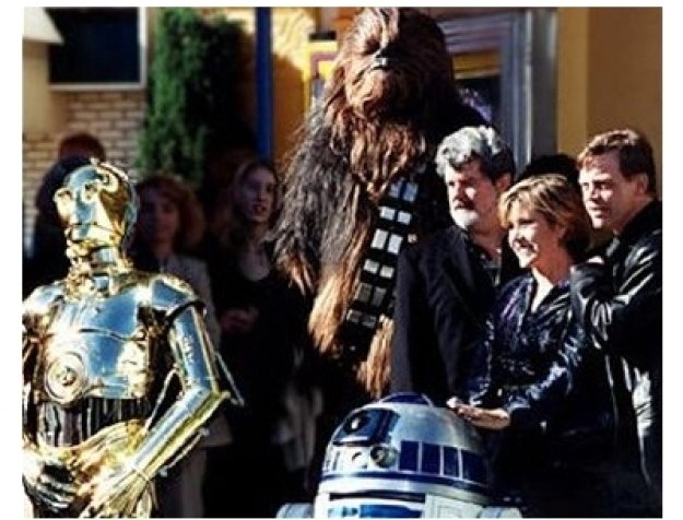 Cast at the Star Wars: Episode IV -- A New Hope premiere