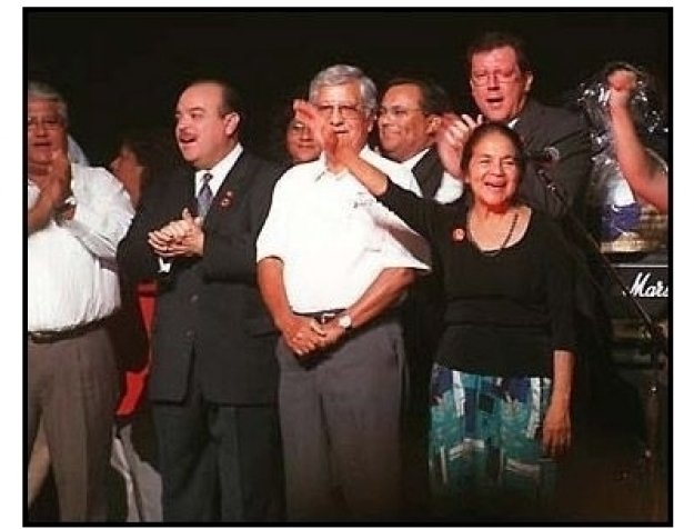 Cesar E. Chavez family at the 2000 Democratic Hispanic Talent Showcase