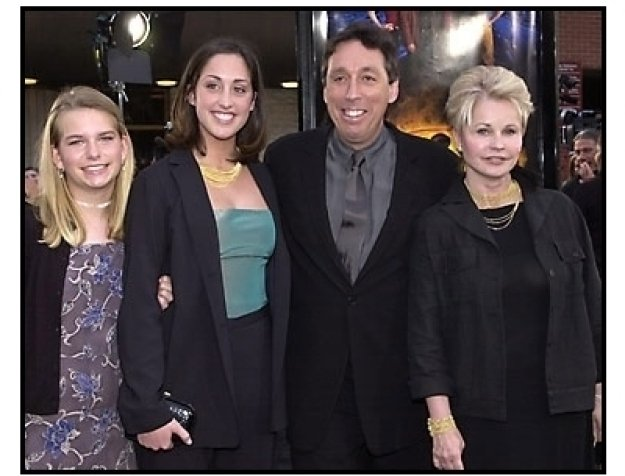 Ivan Reitman and family at the Evolution premiere