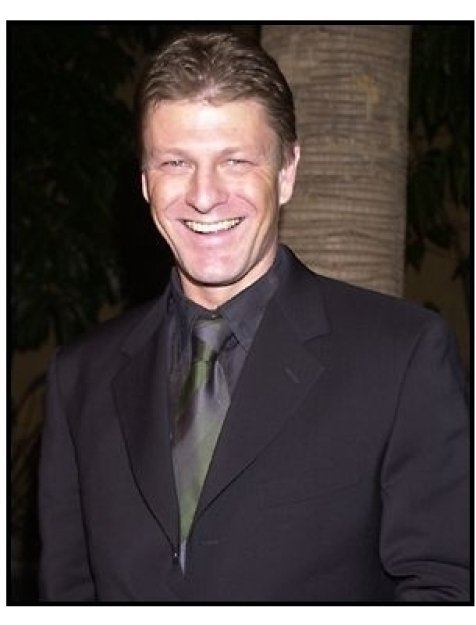 Sean Bean at the The Lord of the Rings: The Fellowship of the Ring premiere
