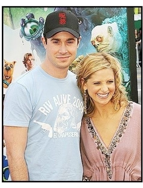 "Freddie Prinze Jr. and Sarah Michelle Gellar at the ""Scooby-Doo 2: Monsters Unleashed"" Premiere"