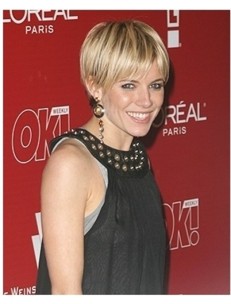 06 Weinstein Pre-Oscar Party Photos:  Sienna Miller