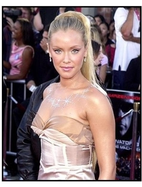 """Kristanna Loken at the """"Terminator 3: Rise of the Machines"""" premiere"""