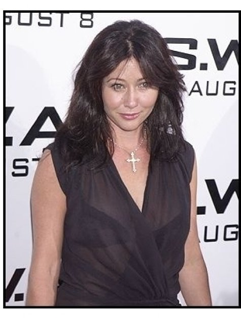 "Shannen Doherty at the ""S.W.A.T."" premiere"