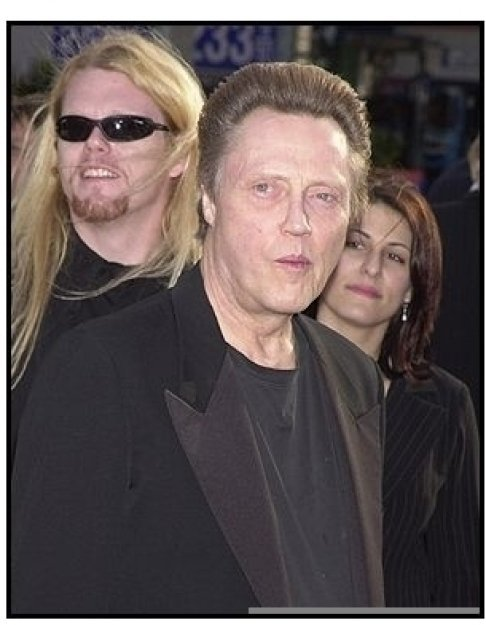 "Christopher Walken at the ""Man on Fire"" Premiere"