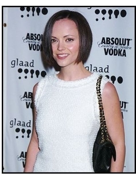 Christina Ricci at the 15th annual GLAAD Media Awards