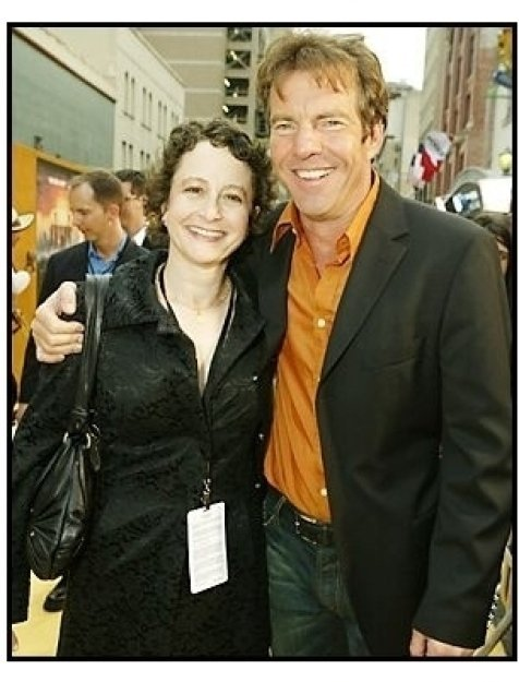 "Dennis Quaid and Nina Jacobsen at ""The Alamo"" Premiere"