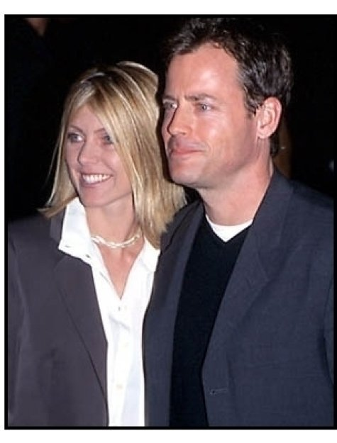 Greg Kinnear and wife at The Gift premiere