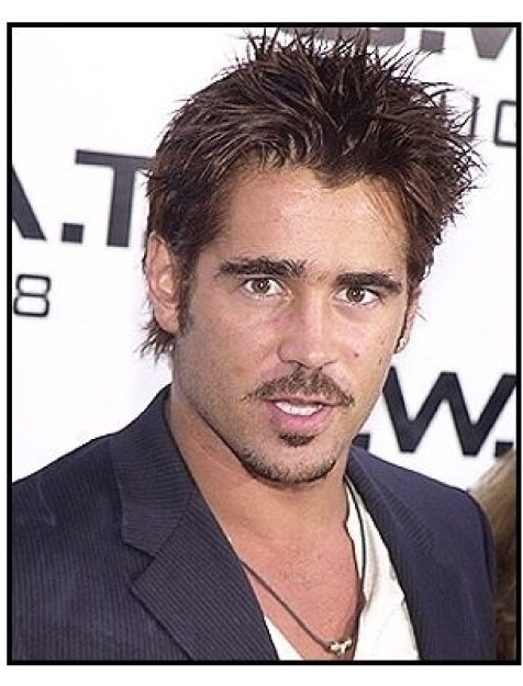 "Colin Farrell at the ""S.W.A.T."" premiere"
