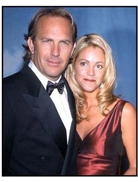Kevin Costner and Christine Baumgartner at the 2000 Carousel of Hope