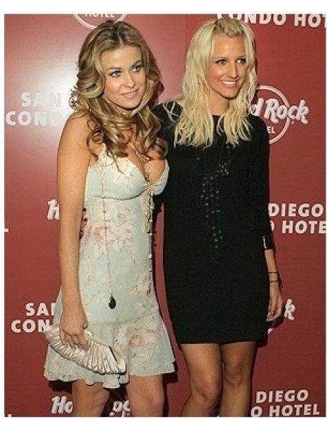 Hard Rock Condo-Hotel Photos: Carmen Electra and Ashlee Simpson