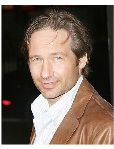 David Duchovny at the Friday Night Lights Premiere