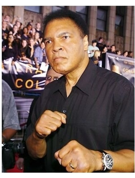 """Muhammad Ali at the """"Collateral"""" premiere"""