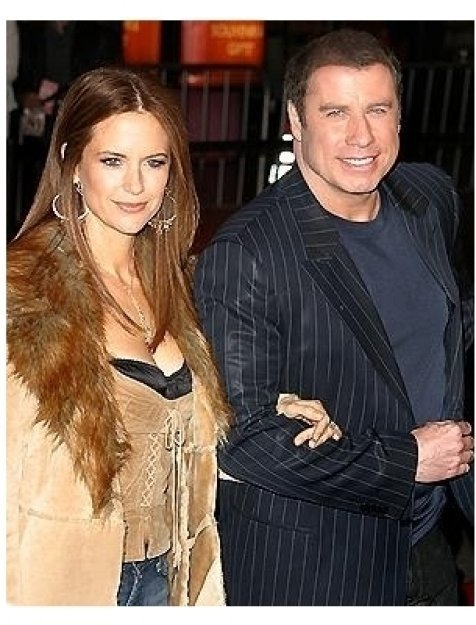 Be Cool Premiere: Kelly Preston and John Travolta