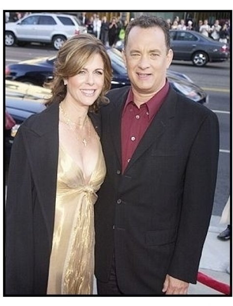 Tom Hanks and Rita Wilson at <I>The Terminal</I> premiere