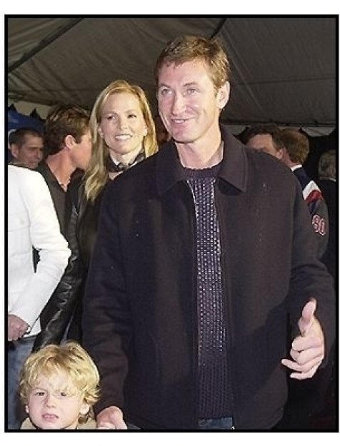 "Wayne Gretzky and family at the ""Miracle"" premiere"