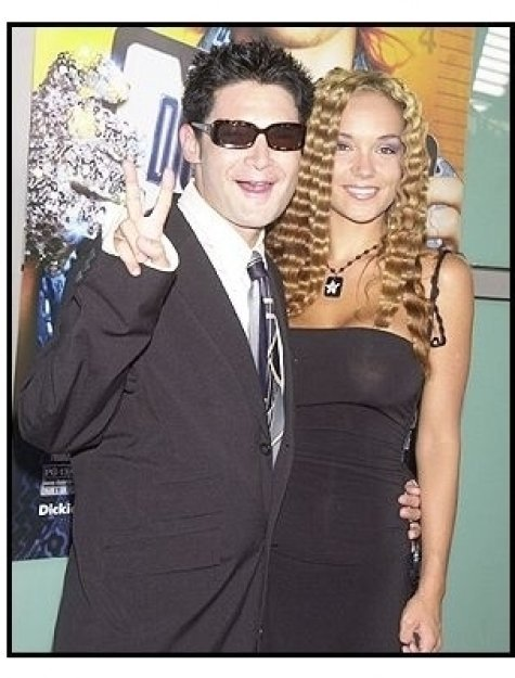 "Corey Feldman and wife Susan at the ""Dickie Roberts: Former Child Star"" premiere"