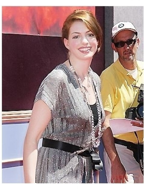 "Anne Hathaway at ""The Princess Diaries 2: Royal Engagement"" World Premiere"