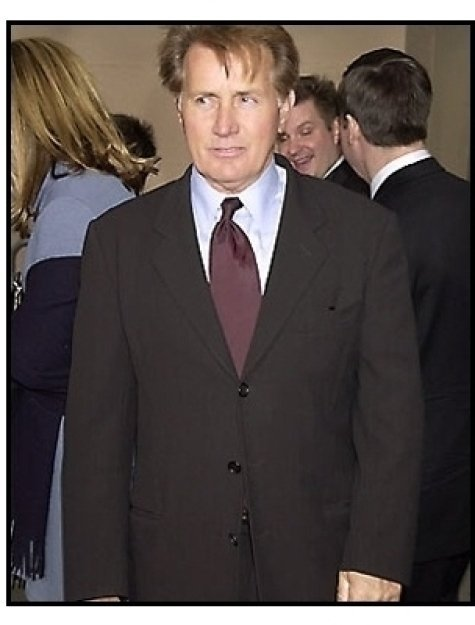 Martin Sheen at the 2001 TV Guide Awards