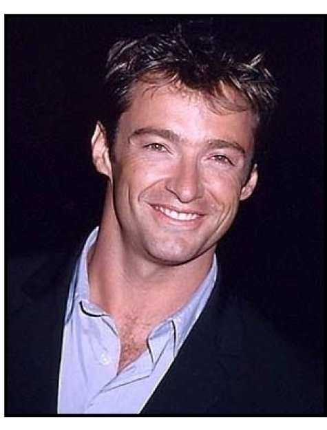 Hugh Jackman at the Lucky Numbers premiere