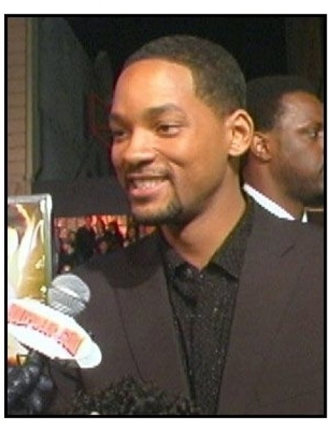 """Ali"" Premiere Video Still: Will Smith"