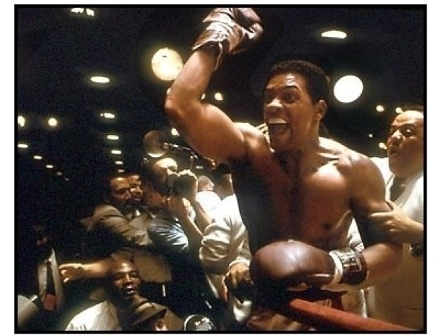 Ali movie still: Will Smith as Muhammad Ali in the ring