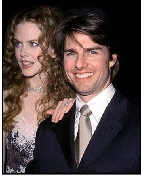 Tom Cruise and Nicole Kidman at Artists Rights Foundation April 1998