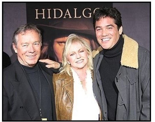 "Dean Cain with parents Sharon and Chris at the ""Hidalgo"" Premiere"