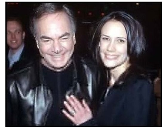 Neil Diamond and date at the Saving Silverman premiere