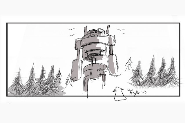 'Broken Toy' Behind the Scenes - Storyboard