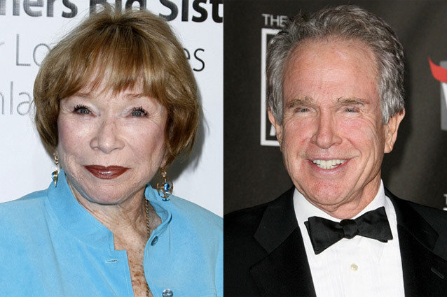 Shirley Maclaine, Warren Beatty
