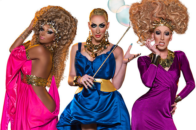 Roxxxy Andrews, Alaska and Detox, RuPauls Drag Race