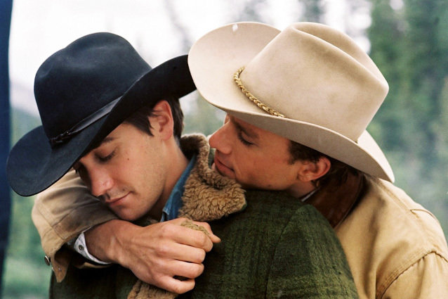 Brokeback Mountain, Jake Gyllenhaal and Heath Ledger