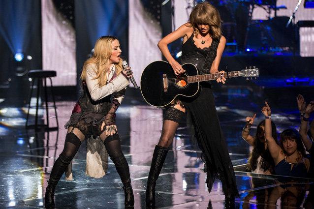 Taylor Swift, Madonna